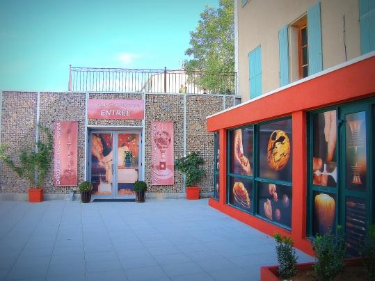 Entrée Musée des tourneurs